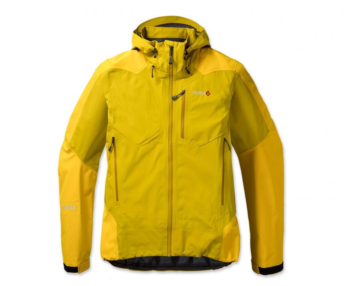Куртка ветрозащитная X6 GTXКуртки<br><br><br>Цвет: Желтый<br>Размер: 50