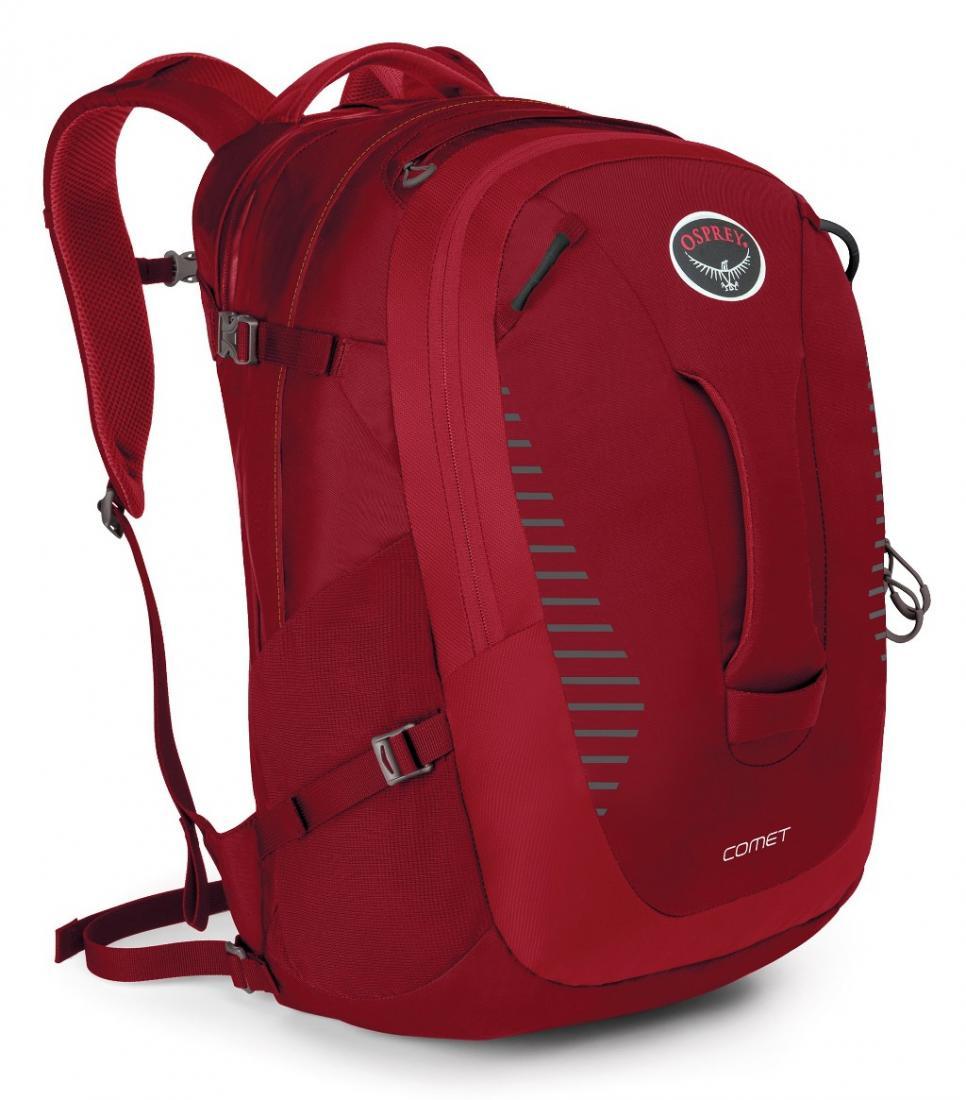 Рюкзак Comet 30Рюкзаки<br><br>Городской рюкзак, воплотивший в своем дизайне традиции outdoor и многолетний опыт конструирования рюкзаков Osprey. Прочный, качественный и функциональный, с удобной внутренней организацией, он создает непревзойденный комфорт при переноске. Легкодосту...<br><br>Цвет: Красный<br>Размер: 30 л