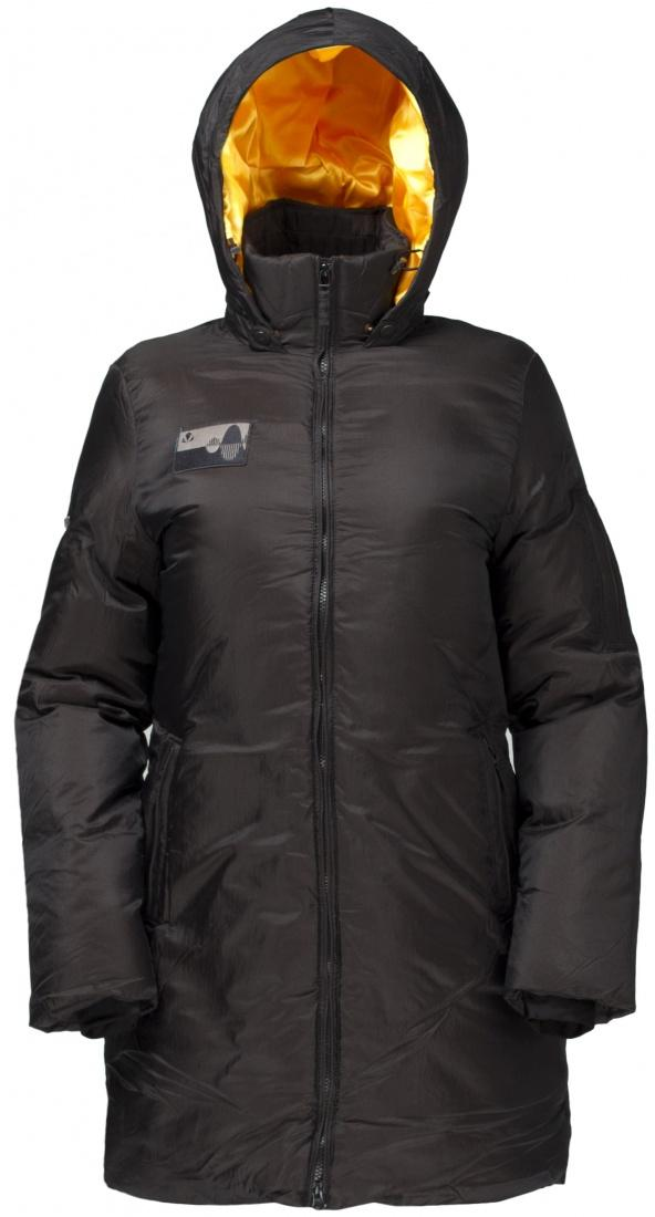 Куртка пуховая Caddy женскаяКуртки<br><br>Женское пуховое пальто Cuddy W с классической строчкой и врезными карманами. Благодаря удлиненному фасону эта вещь становится универсальным вариантом для городской активности в холодное время года.<br><br><br>Мембрана: Dry Factor 1000 мм/1000...<br><br>Цвет: Черный<br>Размер: 50