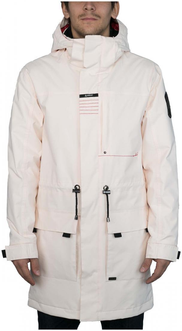 Куртка утепленная KronikКуртки<br><br> Утепленный городской плащ с полным набором характеристик сноубордической куртки. Функциональная снежная юбка, регулируемые манжеты прекрасно сочетаются со стяжками на поясе и удлиненным силуэтом. Яркая ткань или стильный принт этой модели непременн...<br><br>Цвет: Серый<br>Размер: 54