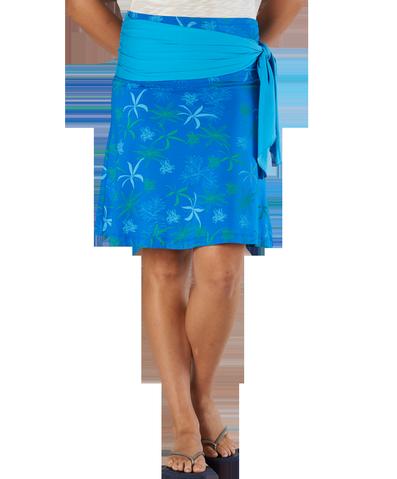 Юбка Kai Convertible SkirtЮбки<br>Удобная эластичная юбка-трансформер. <br> <br><br><br>Материал – 57% органический хлопок, 38% смесовое волокно ProModal, 5% спандекс.<br>Волокно ProModal придает изделиям мягкость, регулирует микроклимат, снижает размножение бакте...<br><br>Цвет: Голубой<br>Размер: S