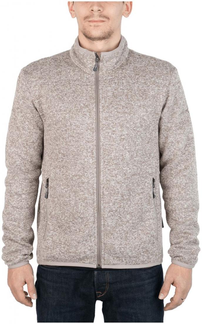 Куртка Tweed III МужскаяКуртки<br><br> Теплая и стильная куртка для холодного временигода, выполненная из флисового материала с эффектом«sweater look». Отлично отводит влагу, сохраняет тепло,легкая и не громоздкая.<br><br><br>основное назначение: Повседневное городскоеисполь...<br><br>Цвет: Бежевый<br>Размер: 46