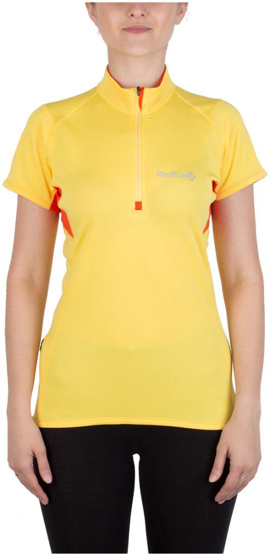 Футболка Trail T SS ЖенскаяФутболки, поло<br><br> Легкая и функциональная футболка с коротким рукавом из материала с высокими влагоотводящими показателями. Может использоваться в качестве базового слоя в холодную погоду или верхнего слоя во время активных занятий спортом.<br><br><br>основно...<br><br>Цвет: Желтый<br>Размер: 46