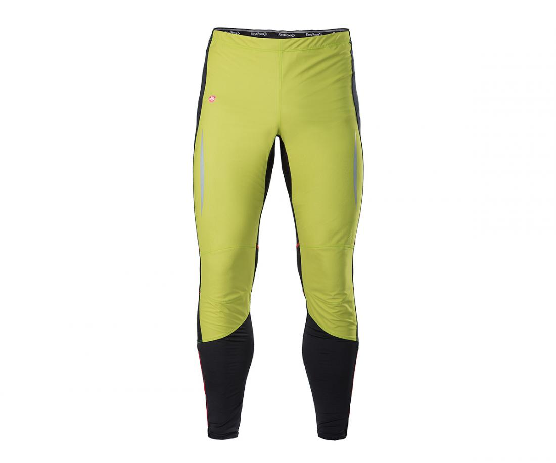 Брюки MultiБрюки, штаны<br><br> Лосины анатомической формы для беговых и лыжных тренировок в холодную и ветреную погоду, выполнены из комбинации материалов с различными свойствами; благодаря использованию материала WINDSTOPPER® So? Shell спереди, обеспечивают непревзойденную защи...<br><br>Цвет: Зеленый<br>Размер: 48