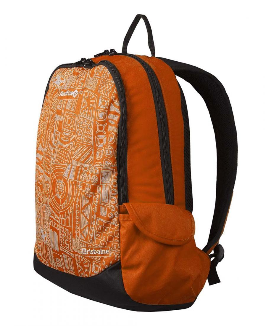 Рюкзак BrisbaneРюкзаки<br><br><br> Рюкзак Brisbane – небольшой городской рюкзак<br><br>Подвесная система Active<br>Смягчающая вставка в дно рюкзака<br>Два боковых об...<br><br>Цвет: Оранжевый<br>Размер: 20 л