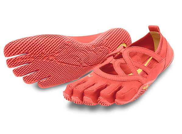 Мокасины FIVEFINGERS Alitza Loop WVibram FiveFingers<br><br><br> Красивая модель Alitza Loop идеально подходит тем, кто ценит оптимальное сцепление во время босоногой ходьбы. Эта минималистичная обувь отлично подходит для занятий фитнесом, балетом и танцами. Модель Alitza Loop очень лёгкая, дышащая и не стесня...<br><br>Цвет: Красный<br>Размер: 42
