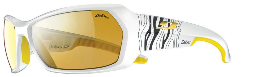 Очки Julbo  Dirt 369Очки<br>Важной чертой этой модели является то, что очки плотно сидят на лице. Это достигается за счёт вставок различной плотности в оправе очков. Бл...<br><br>Цвет: Белый<br>Размер: None