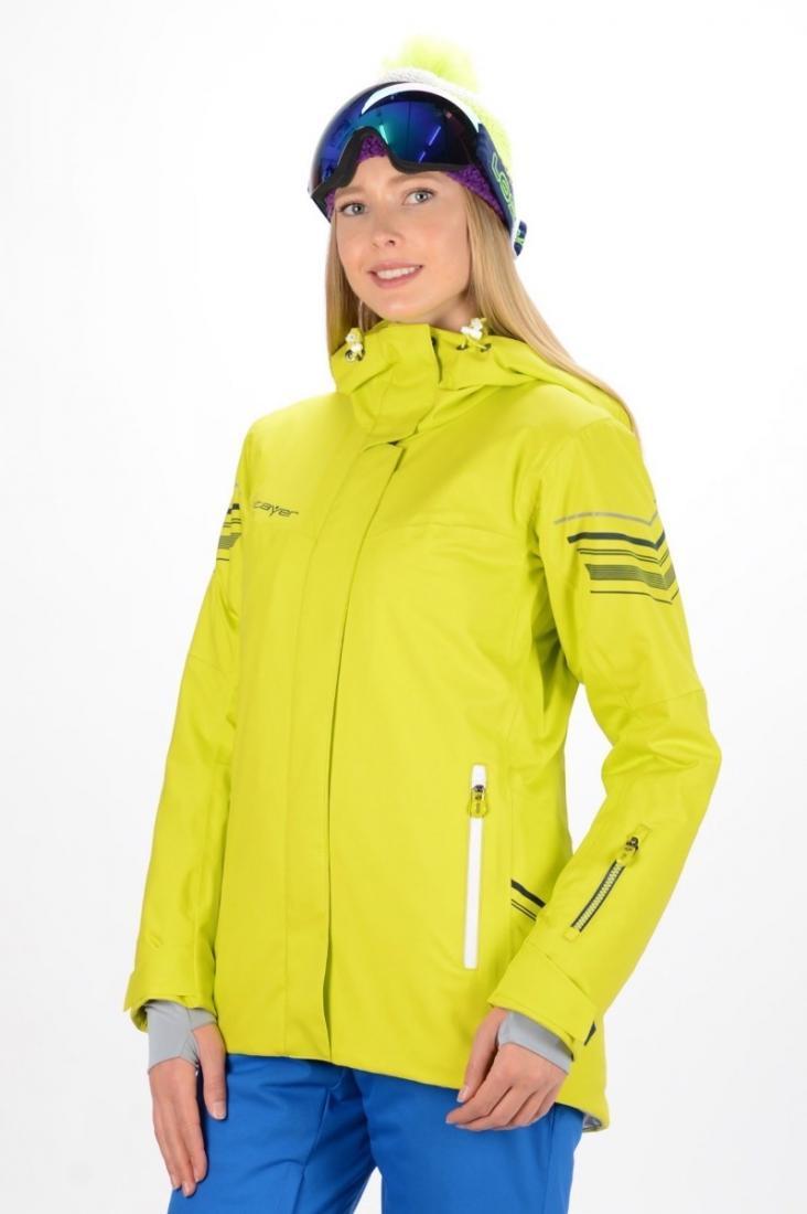 Куртка 16-42525 женКуртки<br>Удлиненная профессиональная однотоновая модель усовершенствованной, эргономичной конструкции, обеспечивающая полную свободу движений при активном катании и полный климат-контроль.<br>Модель предназначена для профессионального катания на горных лыжах. Под...<br><br>Цвет: Салатовый<br>Размер: 44