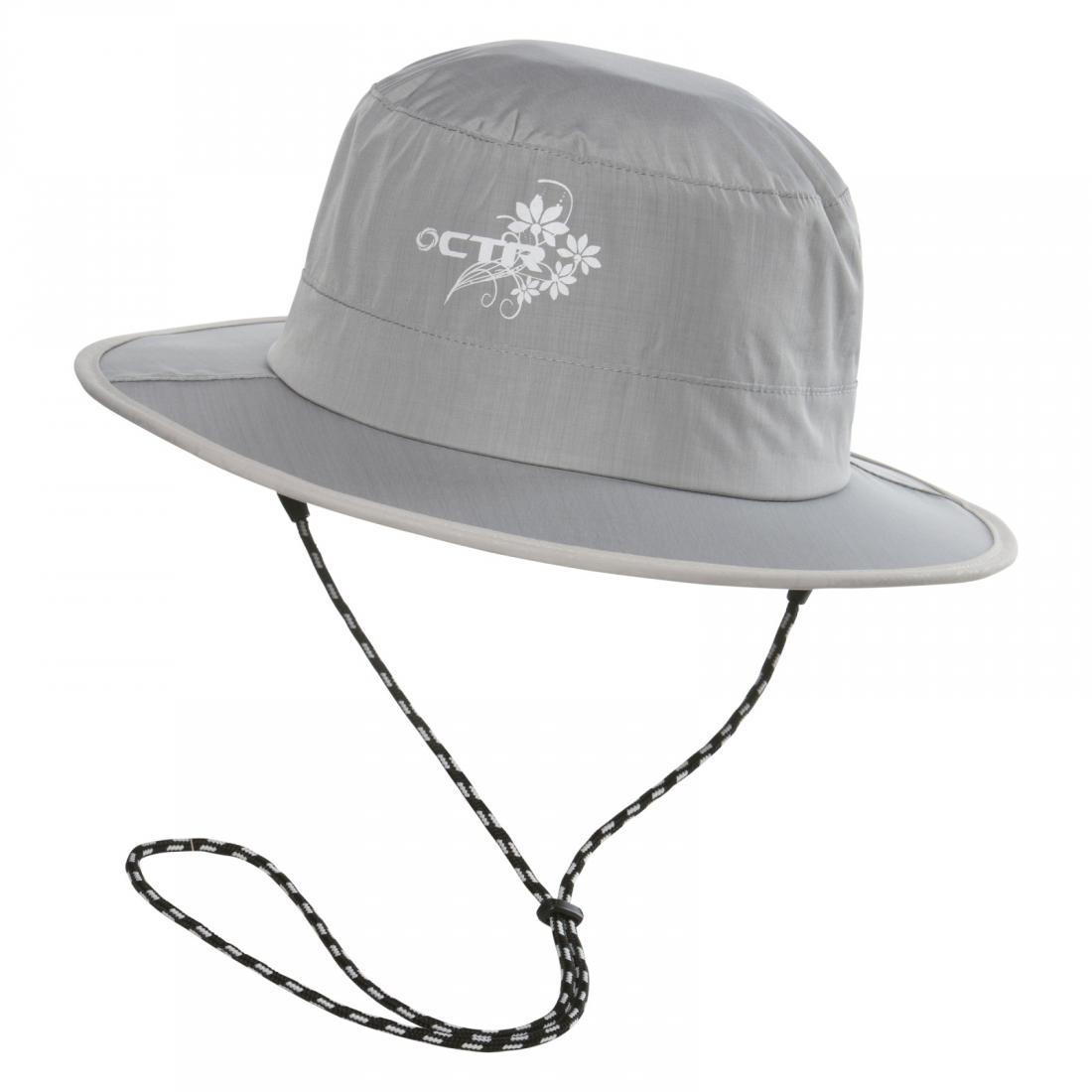 Панама Chaos  Stratus Bucket Hat (женс)Панамы<br><br><br>Цвет: Серый<br>Размер: L-XL
