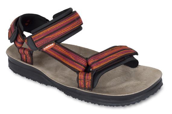 Сандалии HIKEСандалии<br>Легкие и прочные сандалии для различных видов outdoor активности<br><br>Верх: тройная конструкция из текстильной стропы с боковыми стяжками и застежками Velcro для прочной фиксации на ноге и быстрой регулировки.<br>Стелька: кожа.<br>&lt;...<br><br>Цвет: Оранжевый<br>Размер: 38