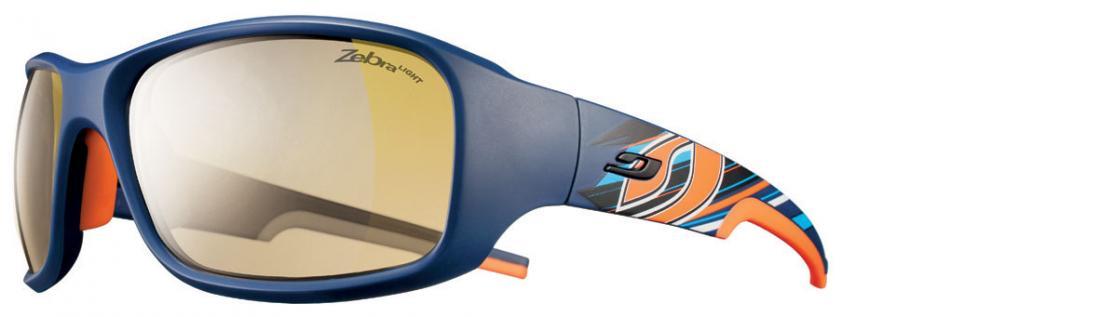 Очки Julbo  Stunt 438Очки<br>Мультиспортивные очки.<br><br>Форма и материал оправы очков Stunt гарантируют комфорт и устойчивость во время прыжков, скоростных спусков и езды по пересечённой местности. Благодаря лёгкому весу, высочайшему качеству и эргономичности очки Julbo Stunt по...<br><br>Цвет: Синий<br>Размер: None