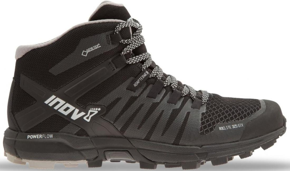 Inov-8 Кроссовки Roclite 325 GTX муж. (6.5, Black/Grey, , ,) inov 8 футболка base elite lsz w xl barberry