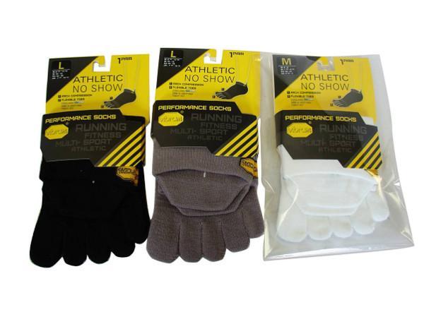 Носки NO SHOWНоски<br>Специальные носки для ношения с обувью five fingers. Обычно используются для спортивной обуви, например, Bikila EVO.<br><br>Состав: Coolmax® 75%, Нейлон® 20%, Лайкра 5%<br>Цвета: Белый, Чёрный, Серый<br><br><br>Цвет: Белый<br>Размер: L