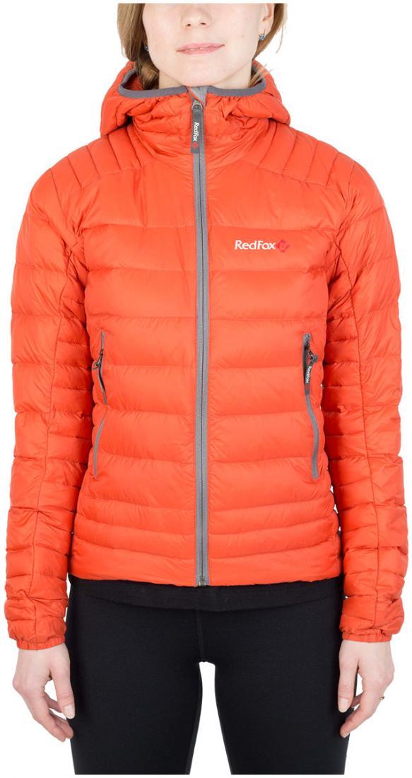 Куртка утепленная Quasar ЖенскаяКуртки<br><br><br>Цвет: Оранжевый<br>Размер: 44
