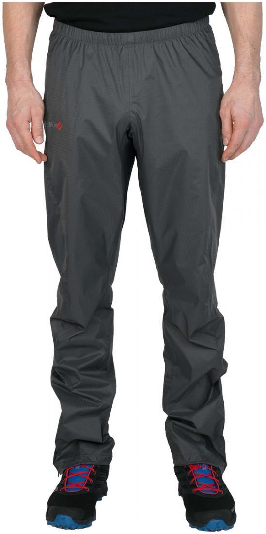 Брюки ветрозащитные Long Trek МужскиеБрюки, штаны<br><br><br>Цвет: Темно-серый<br>Размер: 54