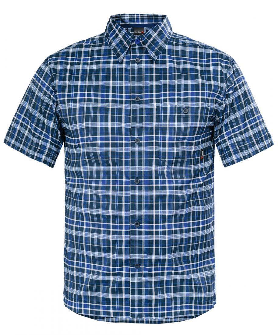 Рубашка Vermont МужскаяРубашки<br>Стильная мужская рубашка из высокотехнологичной эластичной ткани. Анатомический крой не стесняет движений. Комфортная модель со свободной посадкой прекрасно подойдет для использования в повседневной жизни и в поездках. Изделие прекрасно сочетается с бр...<br><br>Цвет: Темно-синий<br>Размер: 56