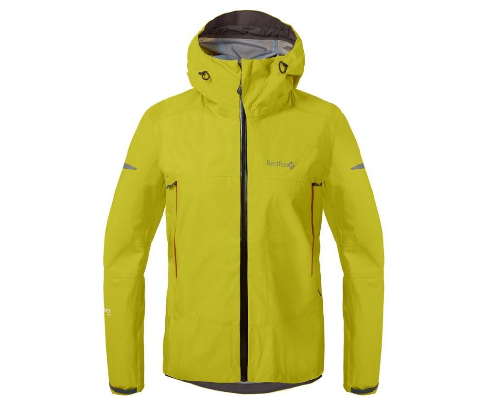 Куртка ветрозащитная SkyКуртки<br><br>Новейшая разработка в серии штормовых курток Red Fox, изготовлена из инновационного материала GORE-TEX® Active Products: самый низкий вес при высокой прочности и самые высокие показатели паропроницаемости при максимальной защите от дождя и ветра.<br>&lt;/...<br><br>Цвет: Салатовый<br>Размер: 46