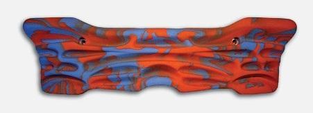 Доска для подтягивания Makak small 72x22 cmЗацепы<br>Доска для подтягивания 72*22 см<br><br>Цвет: Красный<br>Размер: None