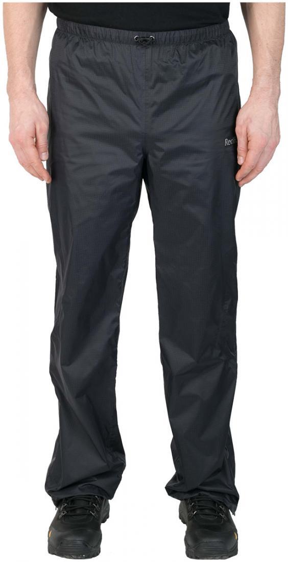 Брюки ветрозащитные Trek IIБрюки, штаны<br><br> Легкие влаго-ветрозащитные брюки для использованияв ветреную или дождливую погоду, подойдут как дляпрофессионалов, так и для любите...<br><br>Цвет: Черный<br>Размер: 46