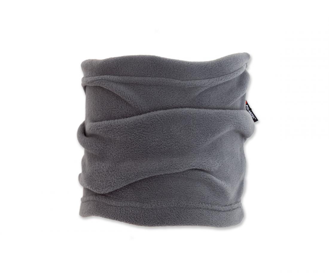 Шарф-хомут PolartecШарфы<br><br> Теплый шарф из материала Polartec® Micro. Надежно сохраняет тепло и защищает от холода.<br><br><br> Особенности<br><br><br>Основное назначение: Люб...<br><br>Цвет: Темно-серый<br>Размер: None
