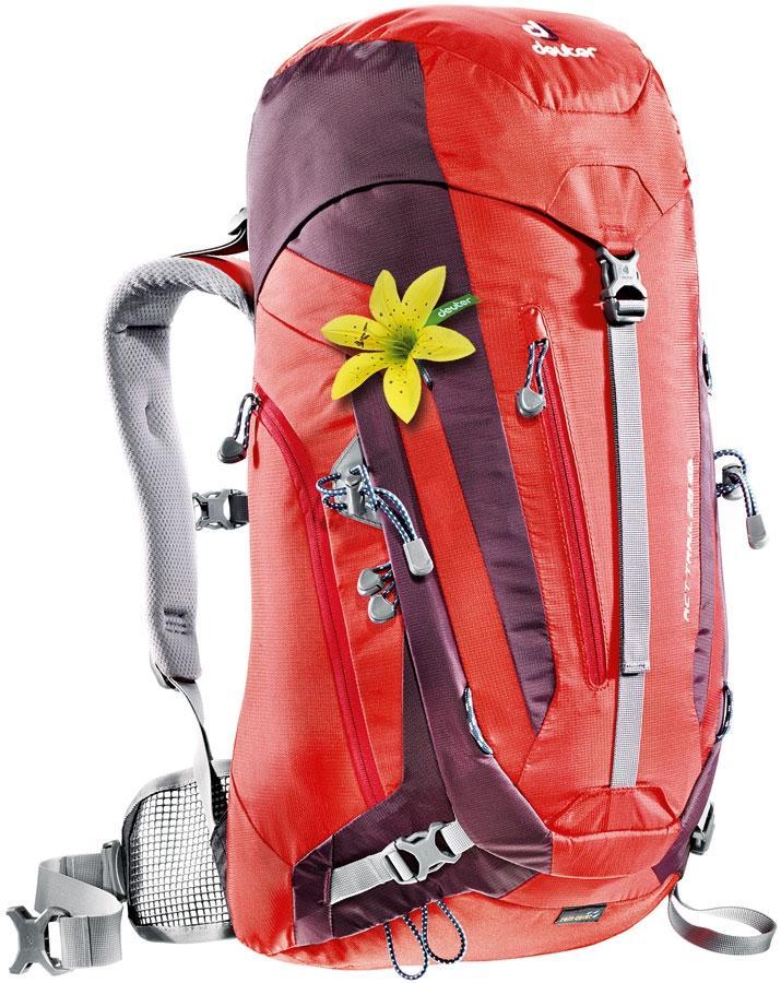 Рюкзак Trail ACT Trail SLТуристические, треккинговые<br>Небольшой технический женский рюкзак с оптимальной подвеской и отличным распеделением нагрузки. Конструкция спинки Aircontact из гибкого материала Delrin легко подгоняется под любую форму спины. <br>Идеально подходит как и для однодневных походов, так и ...<br><br>Цвет: Красный<br>Размер: 28 л