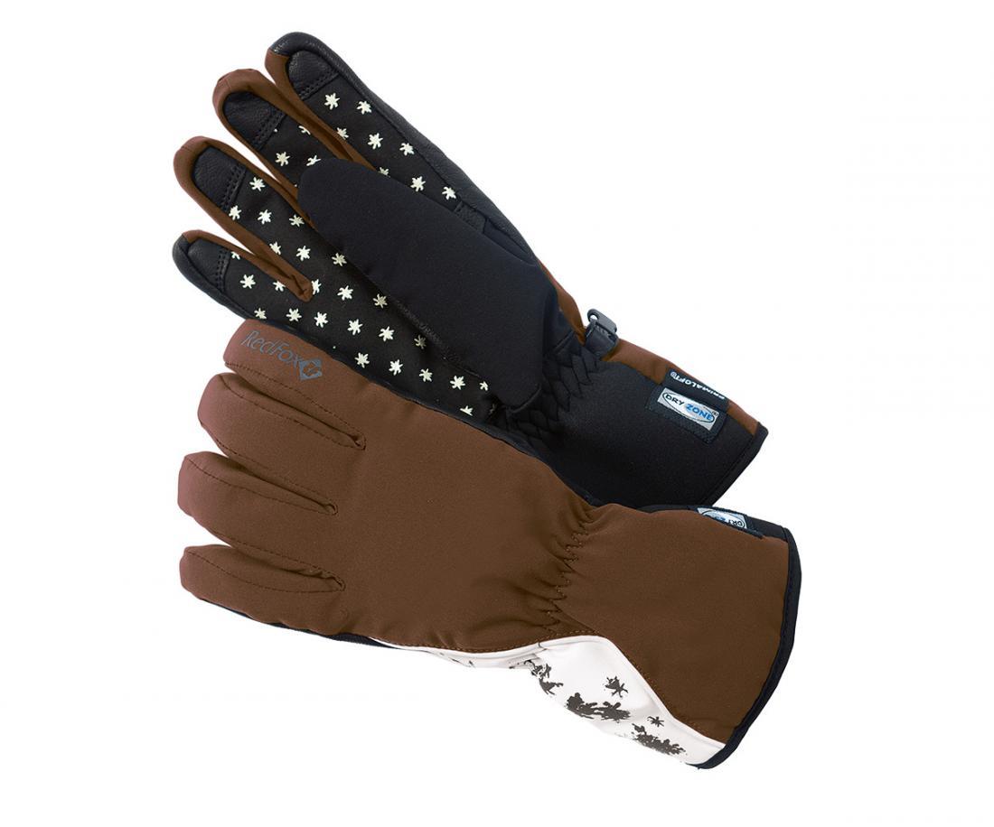 Перчатки Rozary II ЖенскиеПерчатки<br><br> Женские зимние прогулочные перчатки с утеплителем PrimaLoft ®<br><br><br> Основные характеристики<br><br><br><br>удобная посадка по ладони<br>мембранные вставки Dry Zone для усиления водонепроницаемости<br>усиления в обла...<br><br>Цвет: Коричневый<br>Размер: L
