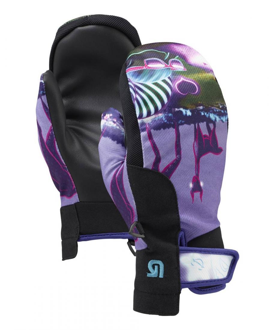Burton Варежки горнолыжные WB STARSHA MITT Светло-фиолетовый