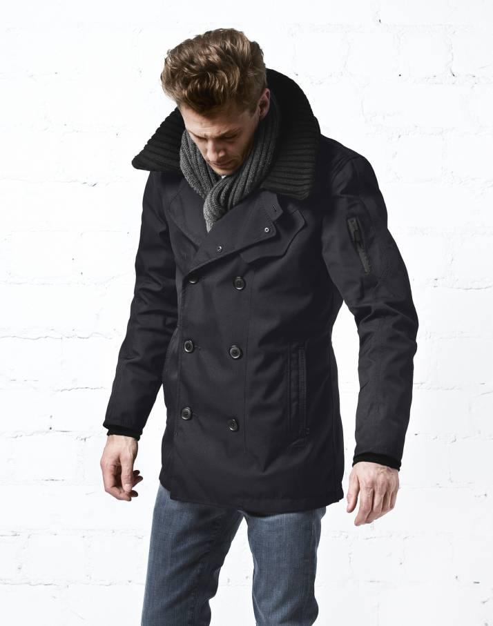 Куртка утепленная муж.HelmsmanКуртки<br>Двубортная куртка Helmsman создана для настоящего мужчины, который любит активный отдых и хочет всегда выглядеть отлично и во время загородной прогулки, и на улицах мегаполиса. Модель Helmsman  - это вещь с историей . Прототипом изделию выбран бушлат  ...<br><br>Цвет: Темно-синий<br>Размер: L