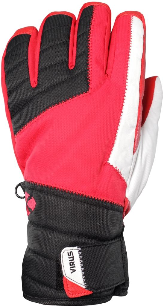 Перчатки F5 мужскиеПерчатки<br><br><br>Цвет: Красный<br>Размер: XS