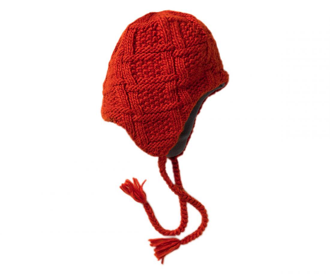 Шапка Polyline IIIШапки<br><br> Изящная женская шапочка с «ушами» и оригинальной вязкой<br><br><br> Основные характеристики<br><br><br><br><br>комфортная посадка<br>эргономичная конструкция кроя<br>комфортные завязки-косички для сохранения тепла<br>...<br><br>Цвет: Красный<br>Размер: None