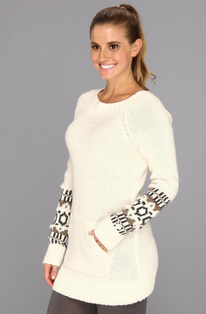 Топ LSW0842 JACKIE 2 TOPСвитеры<br><br> В стильном и уютном свитере Jackie 2 Top LSW0842 от Lole каждая девушка почувствует себя королевой на апре-ски отдыхе. Впрочем, эти женственные лин...<br><br>Цвет: Белый<br>Размер: M