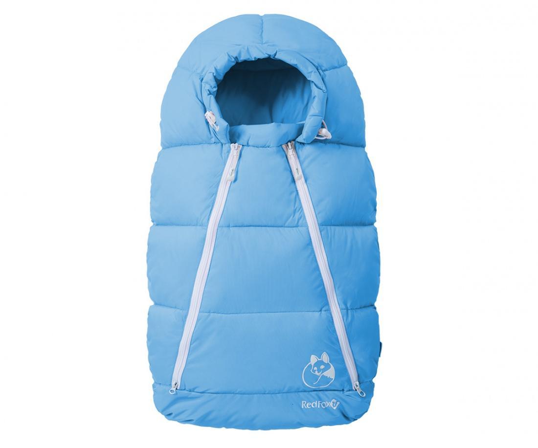 Конверт пуховый Sleepy Fox ДетскийКонверты<br>Универсальный теплый зимний конверт, напоминающий по своей форме кокон. Пух высокого качества превосходно сохраняет тепло и защищает ваше...<br><br>Цвет: Голубой<br>Размер: M(6-12м)