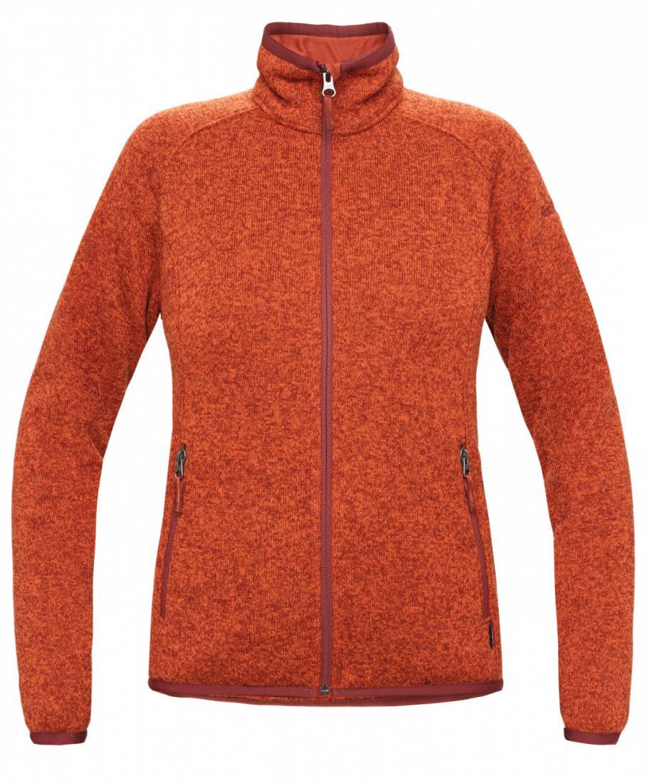 Куртка Tweed III ЖенскаяКуртки<br><br> Теплая и стильная куртка для холодного временигода, выполненная из флисового материала с эффектом«sweater look». Отлично отводит влагу, сохраняет тепло,легкая и не громоздкая.<br><br><br>основное назначение: Повседневное городскоеисполь...<br><br>Цвет: Оранжевый<br>Размер: 44