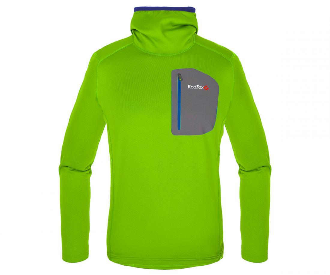 Пуловер Z-Dry Hoody МужскойПуловеры<br><br> Спортивный пуловер, выполненный из эластичного материала с высокими влагоотводящими характеристиками. Идеален в качестве зимнего термобелья или среднего утепляющего слоя.<br><br><br>основное назначение: альпинизм, горные походы<br>бе...<br><br>Цвет: Зеленый<br>Размер: 56