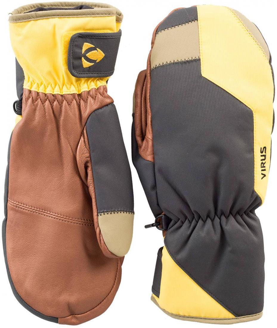 Рукавицы Basic мужскиеВарежки<br>Лаконичная в дизайне, но функциональная модель рукавиц Basic разработана с учетом всех технологий Virus. У неё износостойкая кожаная ладонь, регулировка запястья и утеплитель HyperLoft. Наслаждайтесь катанием, а о комфорте мы позаботились!<br><br>Цвет: Серый<br>Размер: S