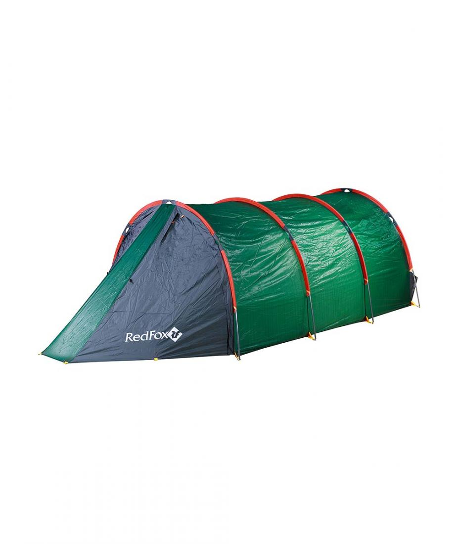 Палатка Fox Cave 6Палатки<br><br> Двухслойная палатка для базового лагеря, разработанная при участии высотных альпинистов команды Red Fox. Прочная, ветроустойчивая, удобная в установке благодаря высокотехнологичной конструкции каркаса DAC. Внешняя поверхность тента имеет силиконово...<br><br>Цвет: Зеленый<br>Размер: None