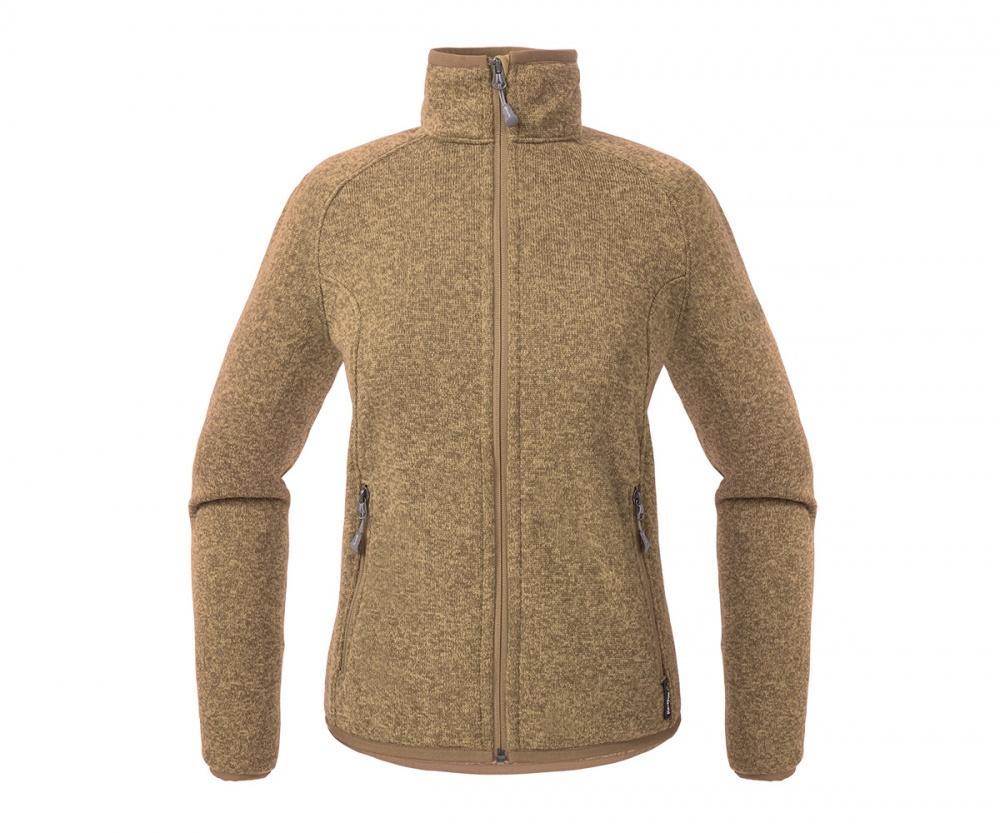Куртка Tweed III ЖенскаяКуртки<br><br> Теплая и стильная куртка для холодного временигода, выполненная из флисового материала с эффектом«sweater look». Отлично отводит влагу, сохраняет тепло,легкая и не громоздкая.<br><br><br> Основные характеристики<br><br><br>воротн...<br><br>Цвет: Бежевый<br>Размер: 44