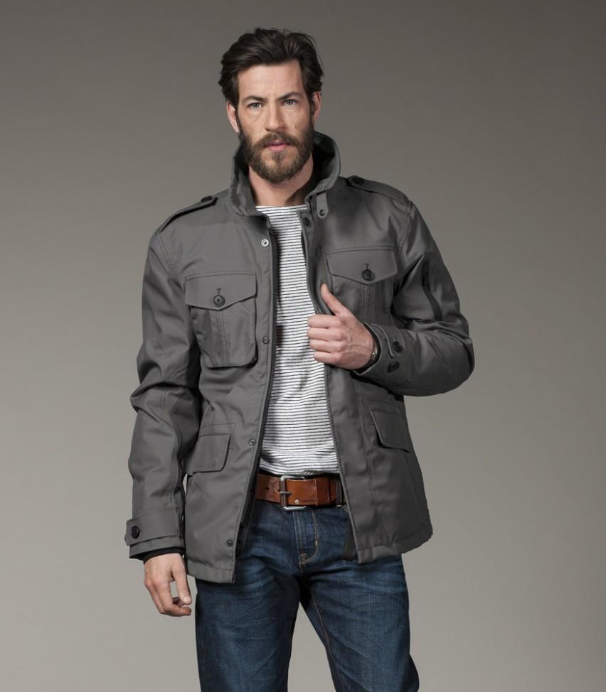 Куртка утепленная муж.FieldКуртки<br>Одежда G-Lab сочетает в себе предельную функциональность и соответствует последним тенденциям моды. Куртка FIELD предлагает именно это. Удлиненный и элегантный силуэ. Практичный материал обеспечивает максимальную защиту от непогоды. Носите куртку когда...<br><br>Цвет: Серый<br>Размер: M