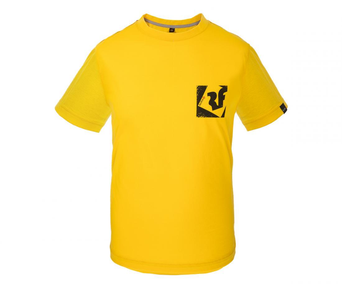 Футболка Quest II МужскаяФутболки, поло<br><br> Легкая и прочная футболка с фирменным принтом, выполненная из материала на 30% состоящего из хлопка и на 70% из полиэстера, что способствует большей износостойкости изделия. Создает отличную терморегуляцию и оптимальный комфорт в повседневном испол...<br><br>Цвет: Янтарный<br>Размер: 52