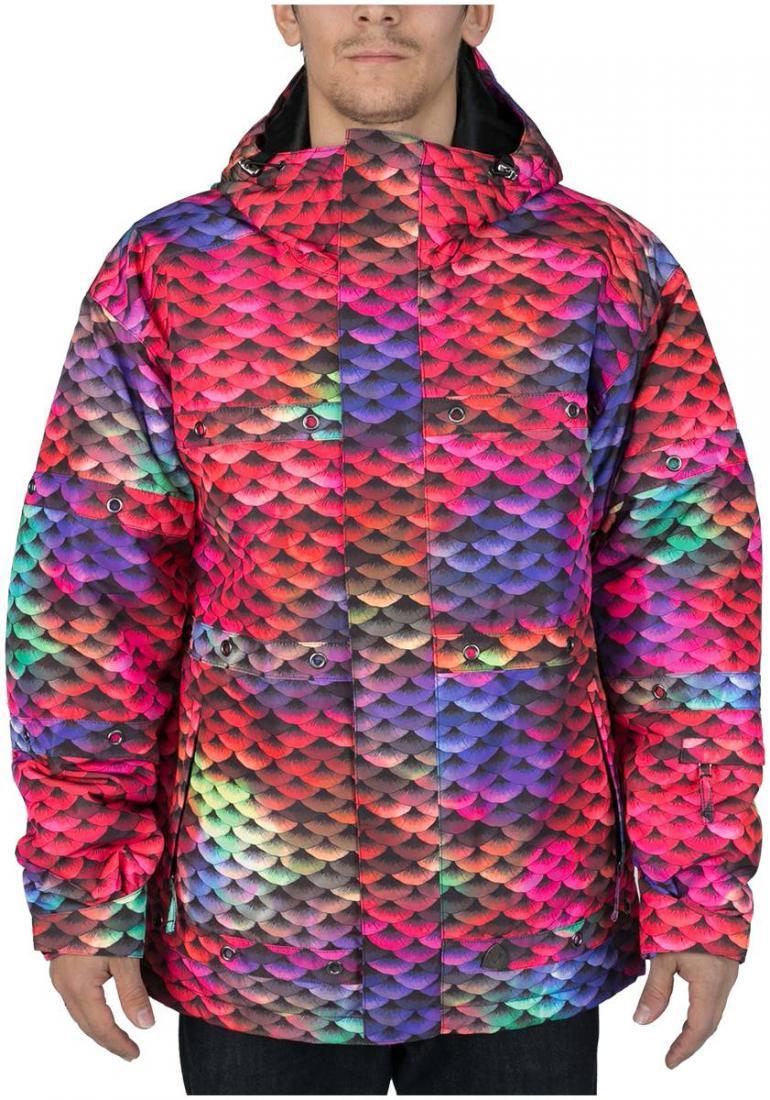 Куртка утепленная HardКуртки<br><br><br>Цвет: Красный<br>Размер: 52