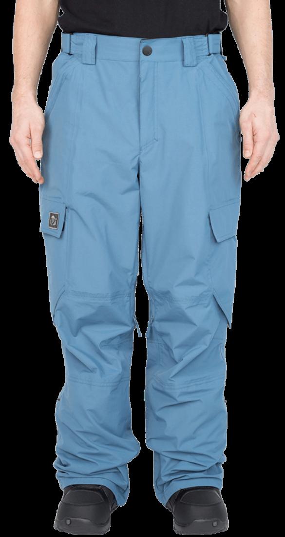 Штаны сноуб.MarkerБрюки, штаны<br><br>По многочисленным просьбам - широкие штаны в фирменном стиле компании, сочетающем в себе швы без внешней отстрочки, с утилитарными деталями. Прочная износоустойчивая ткань спокойных тонов позволит подобрать сочетание к любой курке. Marker - идеальны...<br><br>Цвет: Синий<br>Размер: 44