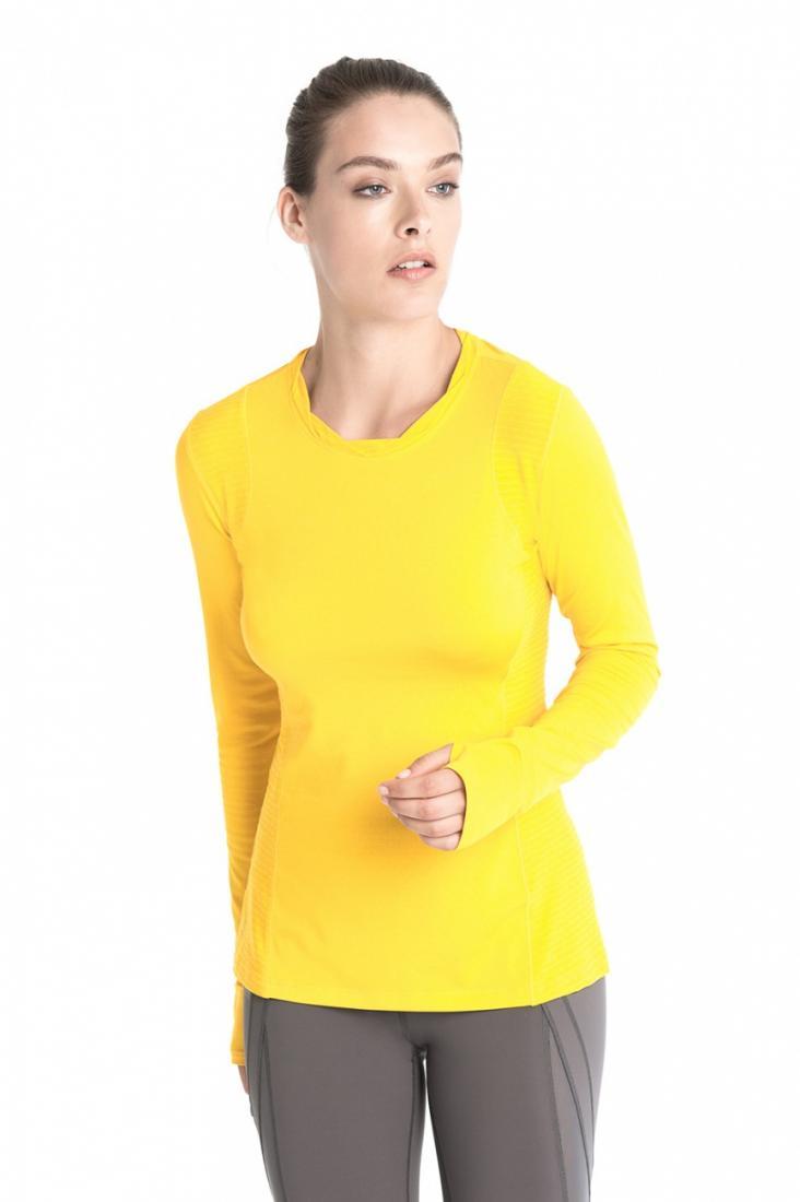 Топ LSW1466 GLORY TOPФутболки, поло<br><br> Функциональная футболка с длинным рукавом создана для яркого настроения во время занятий спортом. Мягкая перфорированная фактура и фу...<br><br>Цвет: Желтый<br>Размер: S