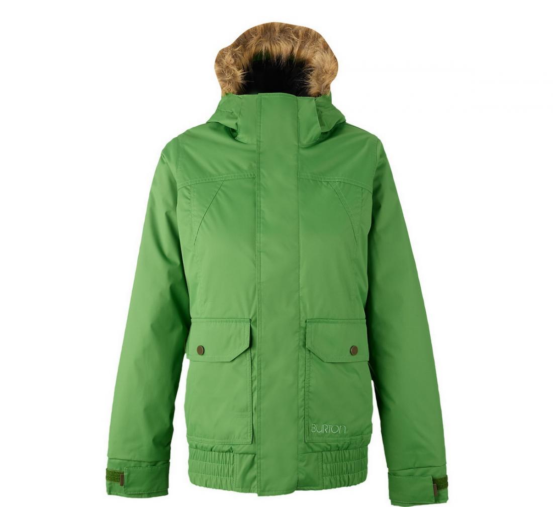 Куртка WB CASSIDY JK жен. г/лКуртки<br><br>Женский бомбер WB CASSIDY JK – зимняя сноубордическая модель с хорошей защитой шеи и поясницы. Благодаря универсальному дизайну, в куртке вы ...<br><br>Цвет: Зеленый<br>Размер: S