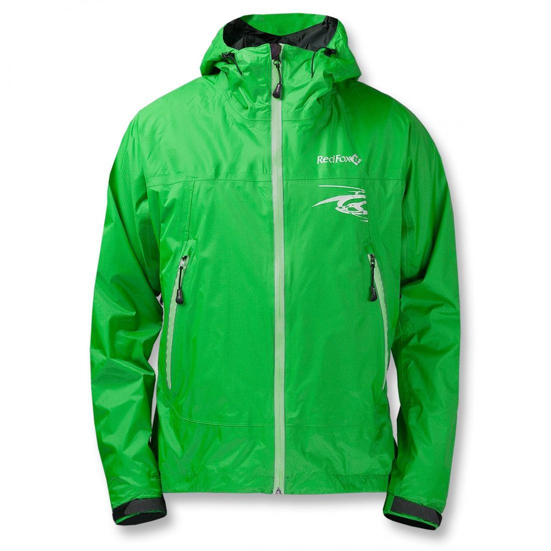 Куртка ветрозащитная Trek IIКуртки<br><br><br> Легкая влаго-ветрозащитная куртка для использованияв ветреную или...<br><br>Цвет: Зеленый<br>Размер: 56