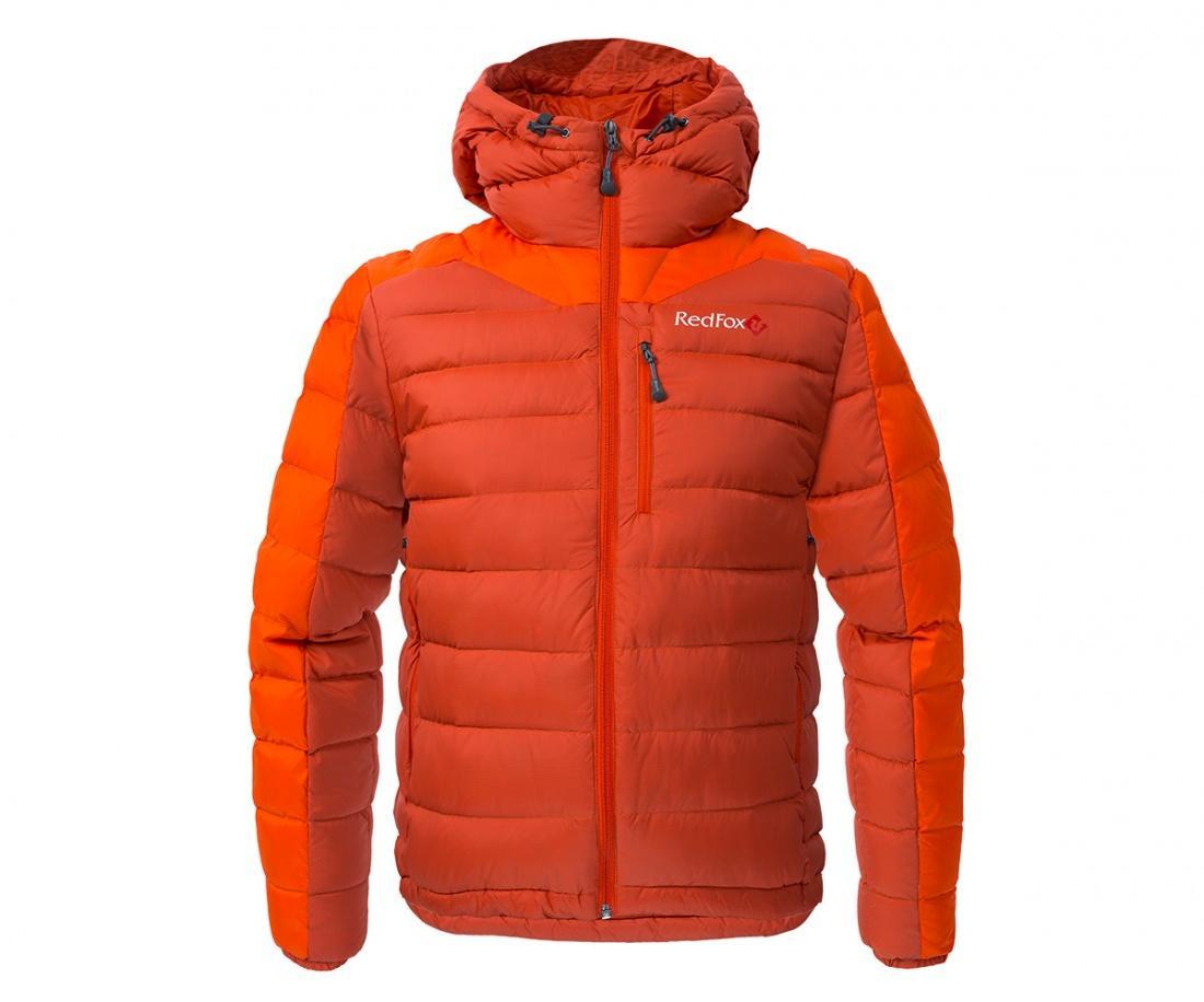 Куртка пуховая Flight liteКуртки<br><br><br>Цвет: Оранжевый<br>Размер: 48