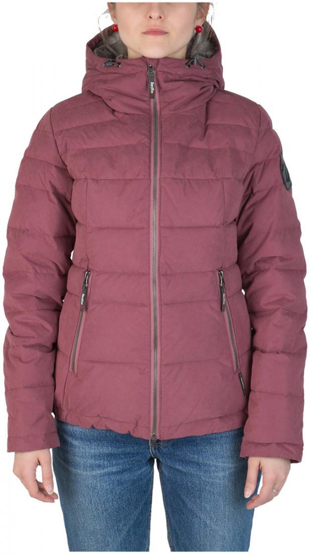 Куртка пуховая Kiana ЖенскаяКуртки<br><br> Пуховая куртка из прочного материала мягкой фактурыс «Peach» эффектом. стильный стеганый дизайн и функциональность деталей позволяют и...<br><br>Цвет: Розовый<br>Размер: 44