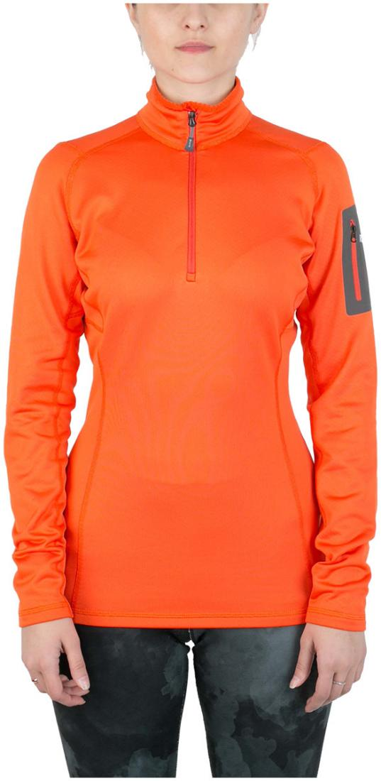 Пуловер Z-Dry ЖенскийПуловеры<br><br><br>Цвет: Оранжевый<br>Размер: 46