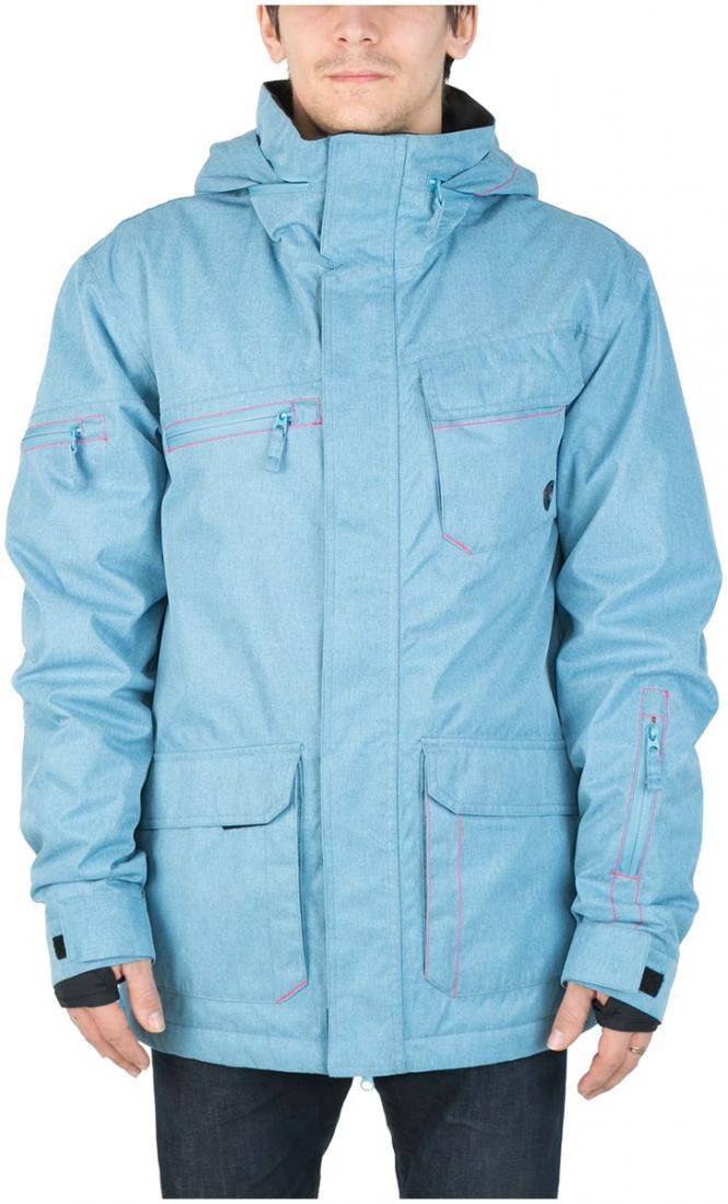 Куртка утепленная STarКуртки<br><br><br>Цвет: Голубой<br>Размер: 54