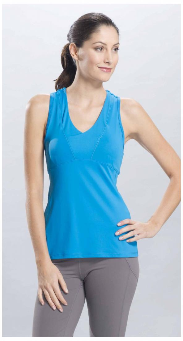 Lole Топ LSW0722 SILHOUETTE TANK TOP (S, Methyl Blue, ,)  обои ланита 4 0722