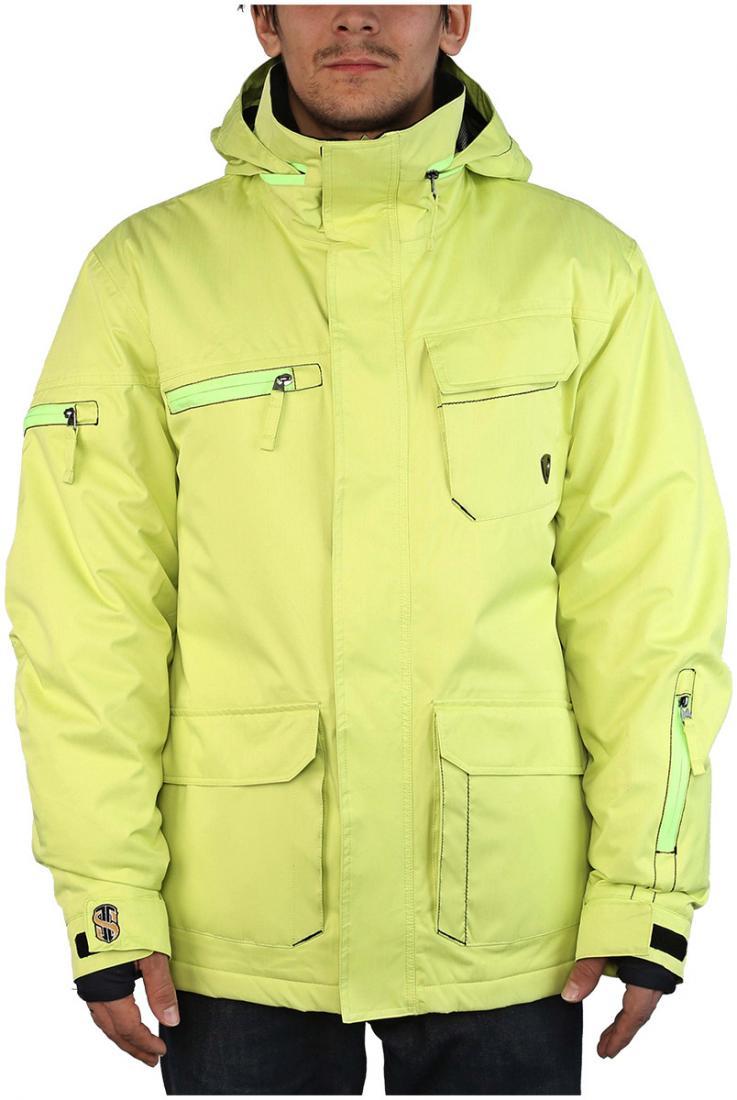Куртка утепленная STarКуртки<br><br><br>Цвет: Салатовый<br>Размер: 54